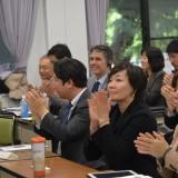 安倍昭恵首相夫人、高校生の防潮堤見直し案を絶賛――国連防災世界会議