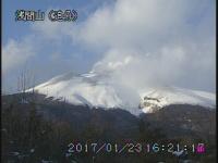 浅間山 火山ガスの勢い止まず 地震は4日間で150回超