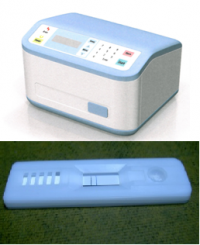 インフルエンザ発症から12時間以内でも診断できる装置を開発