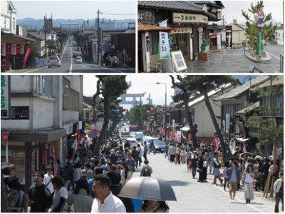 衰退した出雲大社の参詣道を見事に復活させた、出雲市と地域住民の再生戦略
