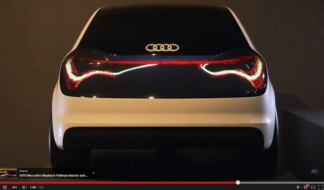 アウディが提案する将来の車── テールライトが「有機ELディスプレイ」に