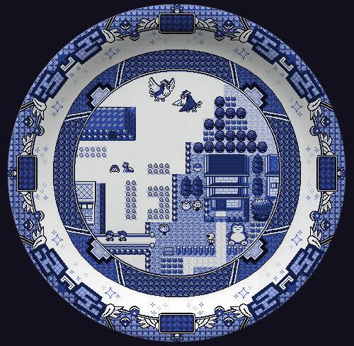 クラシックとレトロの融合!陶磁器の中で『ポケモン』と『ゼルダの伝説』を再現
