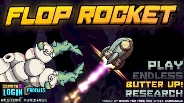 「宇宙?行ってやろうじゃねえか!」〜超絶ムズいフライトアクション『Flop Rocket』