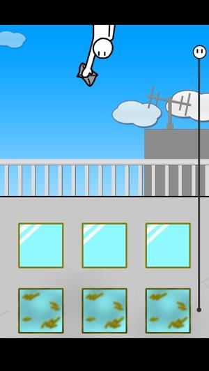 タップで簡単プレイ!掃除に命を懸ける男のアクションゲーム『超!窓拭き』