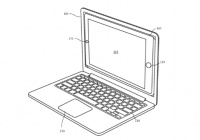iPhoneをはめ込んでCPUやトラックパッドにするAppleのMacBook的な何かの特許が公開される
