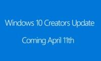 Windows 10の「Creators Update」は4月11日配信スタート
