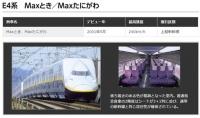 2階建て新幹線が全廃、E4系はE7系に取り替えへ 2018年度以降順次