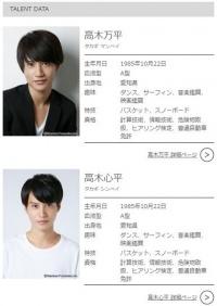 双子の俳優・高木万平・心平が芸能界引退 「俳優業から身を引き新たな出発をする」