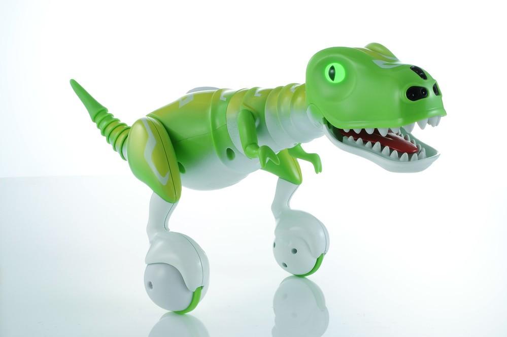 """「Hello!DINO」タカラトミーが発売、""""イタズラ""""すると暴れまわる恐竜ロボ"""