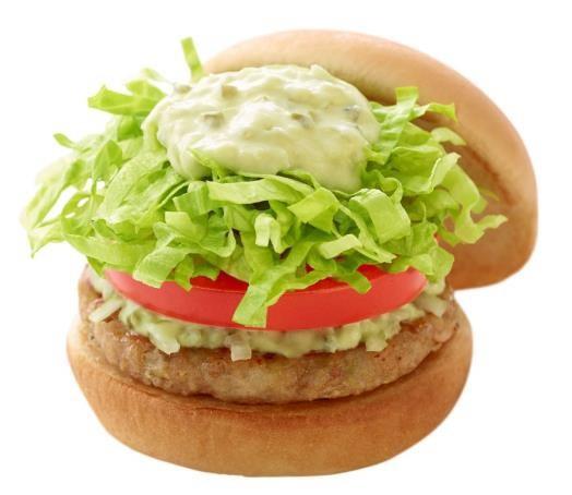 モス初、大豆由来「ソイパティ」のハンバーガー カロリー控えめでからだに優しい