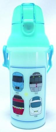 元アイドルの「ママ鉄」豊岡真澄さんプロデュース 小田急電鉄から「ロマンスカー・ワンタッチボトル水筒」発売
