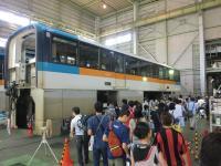 昭和島車両基地で「東京モノレールまつり」 即売会で