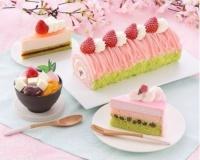 「桜スイーツ」6種類を季節限定発売、銀座コージーコーナー