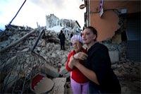 伊中部でM6.2、死者70人超=住民生き埋め、150人不明か