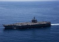 海自と米空母、共同訓練開始=沖縄南方、フィリピン海で―数日間実施、北朝鮮けん制