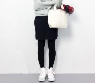 白コンバース×黒タイツはNG!冬のコンバースの履き方、教えます
