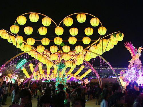 台湾ランタンフェス、きょう最終日 来場者総数1200万人目指す