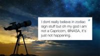 NASAの発表で全米錯乱 「占星術とか信じてるやついるみたいだけど、本当の星座はこうだからね」