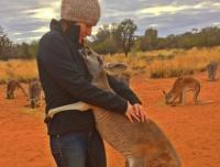 だって抱っこが好きやね~ん!とにかく毎日抱っこされたがりなカンガルーのいる風景