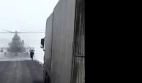 ロシアでは良くあること?道に迷った軍用ヘリが道路に下りてきて道をたずねられた事案