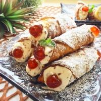ゴッドファーザーの愛したシチリア伝統のお菓子「カンノーリ」の作り方【ネトメシ】