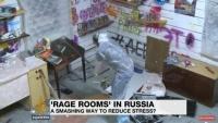 もうやだキーッ!そんな時、あらゆるものを破壊できるデストロイヤーなストレス解消部屋「レイジ・ルーム」(ロシア)