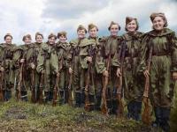 第二次世界大戦中に活躍したロシアのスナイパー女性兵士たちの写真をカラー化