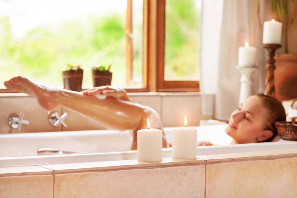 全身つるつるに!日本酒風呂の方法