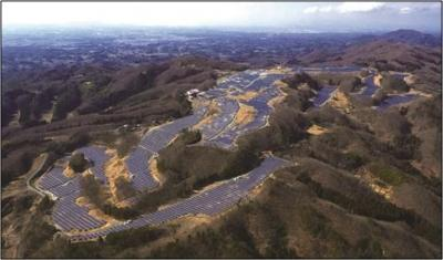 JFEエンジニアリングが福島県のゴルフ場跡地に容量26MWのメガソーラーを完成