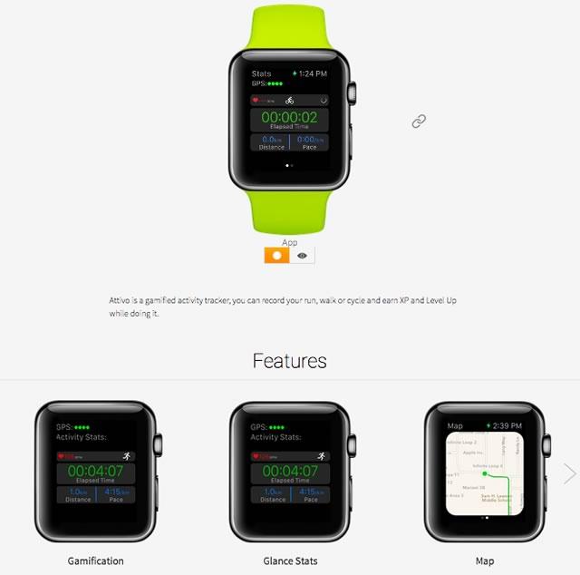 動画でApple Watchのアプリが紹介されているサイト「WatchAware」