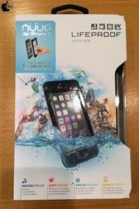 Apple Store、LifeProofのiPhone 6用防水 防塵 耐衝撃ケース「LifeProof nuud 防水 iPhone ケース 6」を販売開始