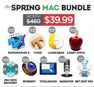 BundleHunt、460ドル相当のMacアプリを39.99ドルで販売する「The Spring Productivity MAC Bundle」を開始