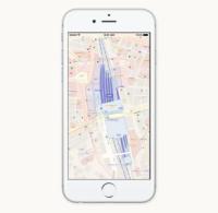 iOS 10:日本でも、マップで交通機関が利用可能に