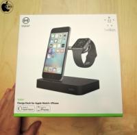 Apple Store、BelkinのiPhone/Apple Watch充電台「Belkin Charge Dock for Apple Watch + iPhone」のブラックモデルを発売開始(Store限定)