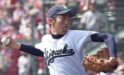 <選抜高校野球>2年生エース村木完投 静岡16年ぶり勝利