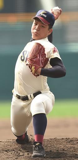 <選抜高校野球>6種類変化球で手玉に 八戸学院光星・中川