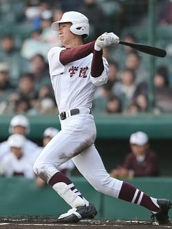 <選抜高校野球>まさかの二人が本塁打 常総学院