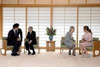 <天皇、皇后両陛下>カナダ首相夫妻と面会