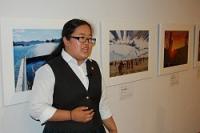 <復興写真展>高校2年の語り部、津波経験語る 横浜