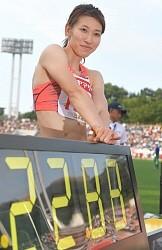 <陸上>福島、女子200日本新でV…日本選手権