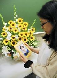 <八王子3人射殺21年>犠牲の高校生を同級生らが追悼