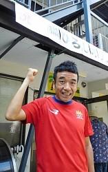 <リオ五輪>「ニャー」見せたい カンボジア代表の猫ひろし