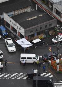 <発砲>4人撃たれ1人死亡、男は逃走 和歌山の建設会社