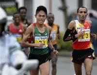 <福岡マラソン>ツェガエが2時間8分48秒で初優勝