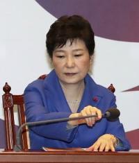 <韓国>朴大統領の弾劾訴追案を可決