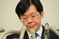<日本将棋連盟>谷川会長、辞任を正式表明 記者会見で
