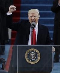<トランプ新大統領>TPPから離脱を正式表明