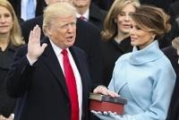 <米大統領就任式>トランプ氏が宣誓、第45代大統領に就任
