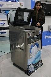 <パナソニック>「カレーコース」の全自動洗濯機