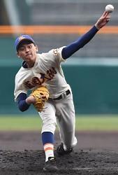 <選抜高校野球>盛岡大付が初の8強 智弁学園の連覇阻む